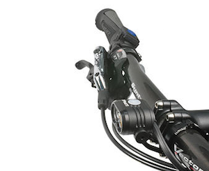2018 Piko R 7 lamp head on handlebars